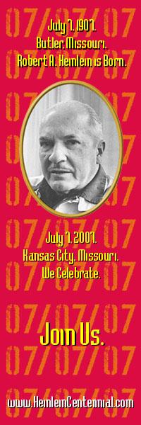 Heinlein Centennial advert