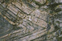 This is what geological folding looks like