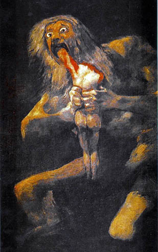 Goya - Saturn devouring his son