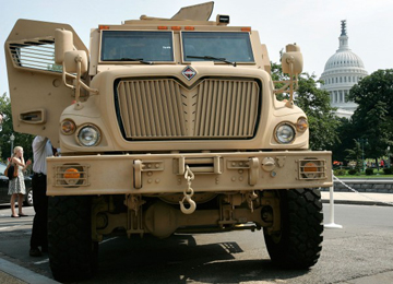 MaxxPro MRAP