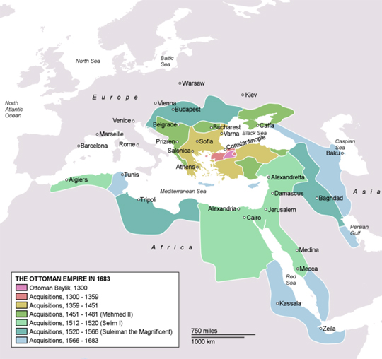 Ottoman Empire to 1683