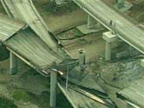 San Francisco freeway collapse