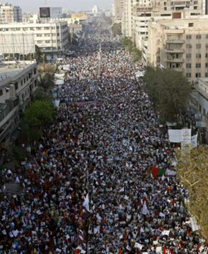 Karachi march