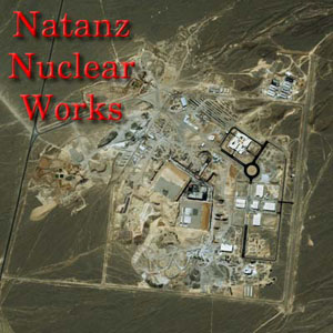 Aerial surveillance of Natanz